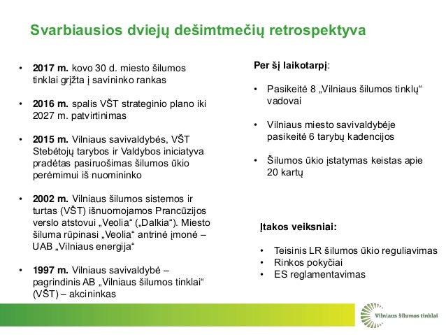 """Per šį laikotarpį: • Pasikeitė 8 """"Vilniaus šilumos tinklų"""" vadovai • Vilniaus miesto savivaldybėje pasikeitė 6 tarybų kade..."""