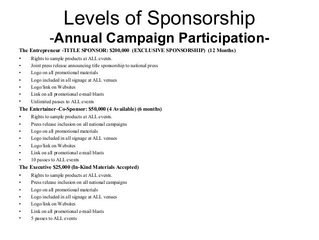 Word 2007 Sponsorship Proposal