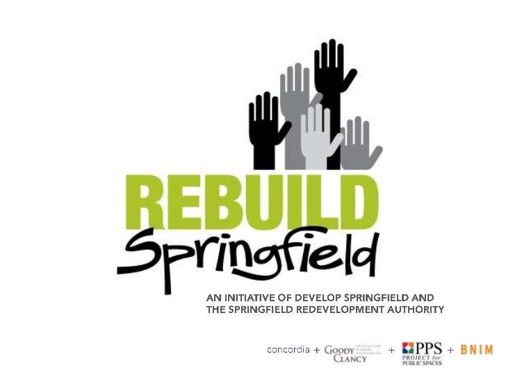 Brian Connors, Co-Chairman, Rebuild Springfield