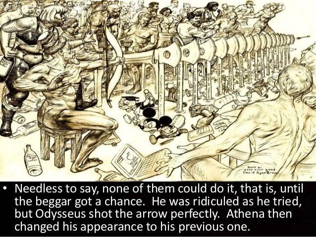 odyssey; the adventure of odysseus Antinous Odyssey