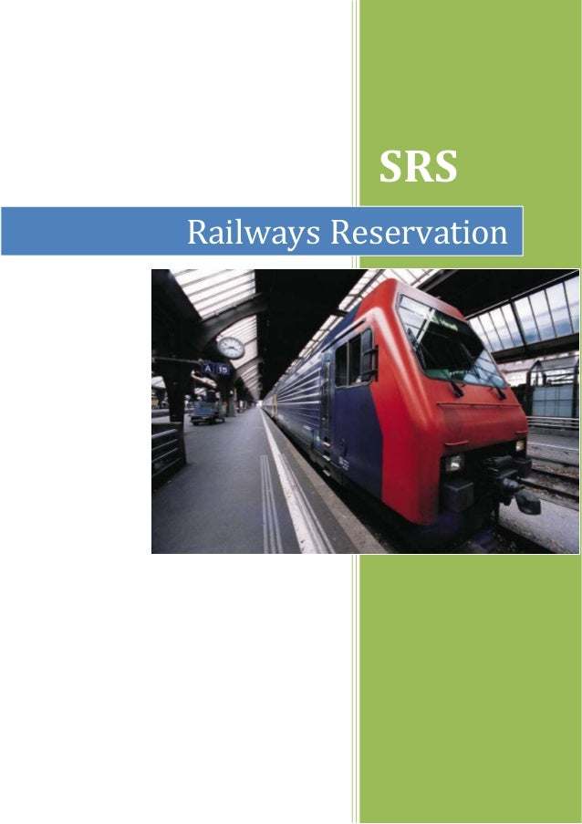 SRS  Railways Reservation