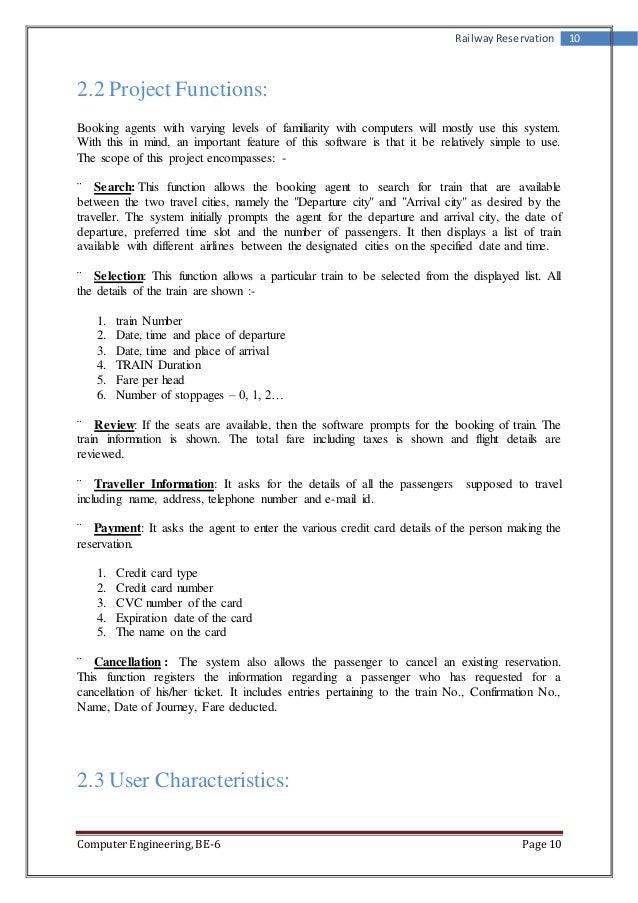 Train Reservation Form Pdf