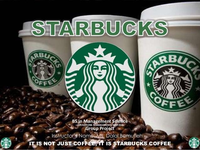 Starbucks service quality
