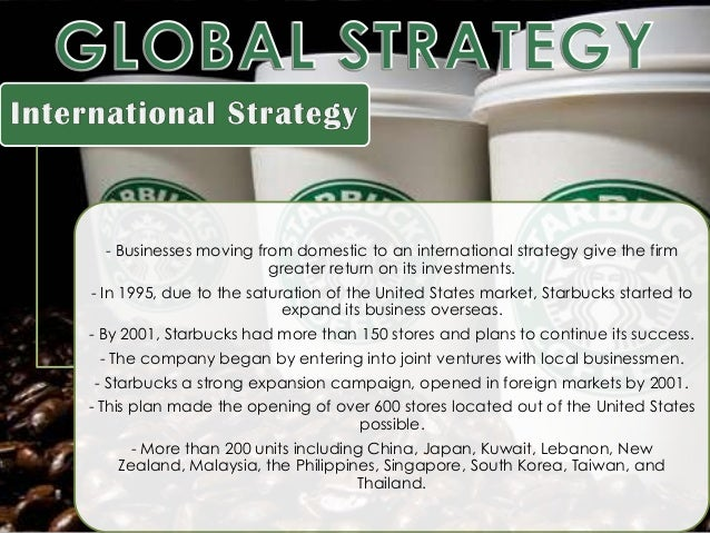 Management of Starbucks