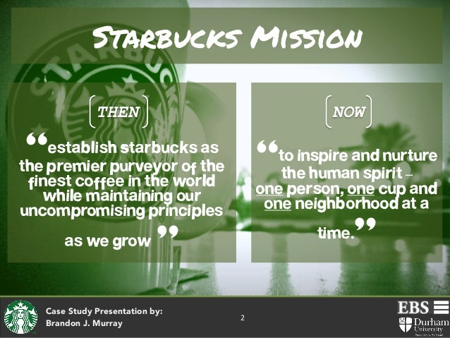 starbucks a story of growth case study Learn how starbucks succeeded in selling huge amounts of coffee to the tea-drinking chinese by using market research to expand with this case study.