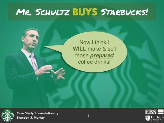 Starbucks a story of growth
