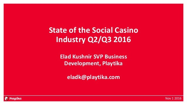 state of the social casino industry
