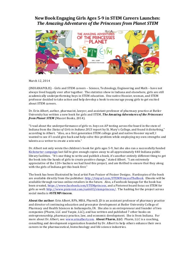 The Amazing Adventures of the Princesses from Planet STEM - book laun…