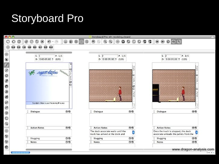 <ul><li>Storyboard Pro   </li></ul>www.dragon-analysis.com