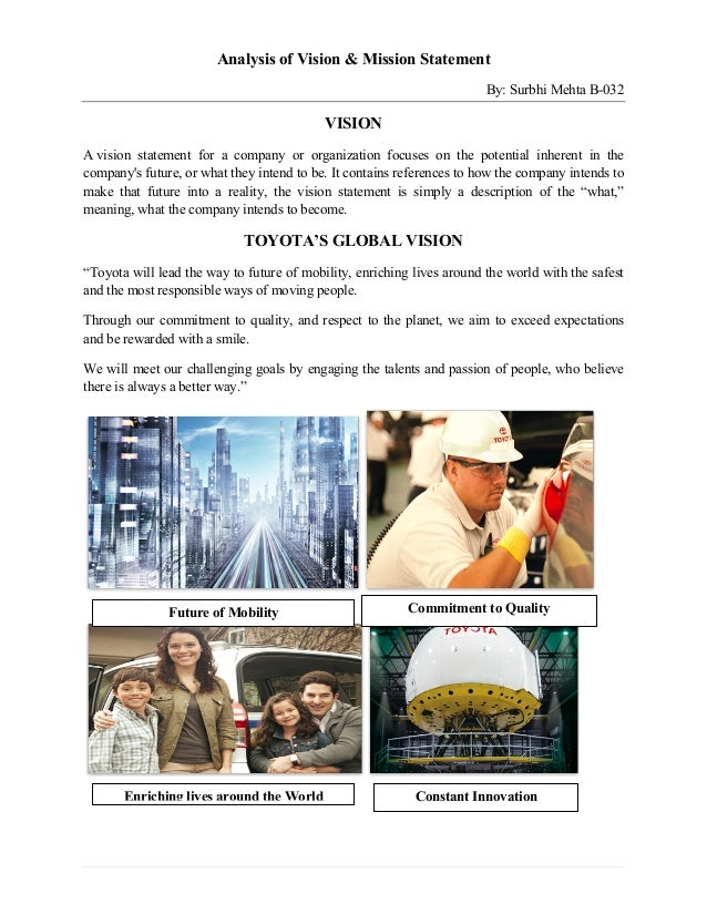 analysis of mission vision statement of siemens 1887 an analysis of the mission and vision statements on the strategic plans of higher education institutions  abstract this study aimed to analyze the mission and vision statements on the strategic plans of higher education insti-.