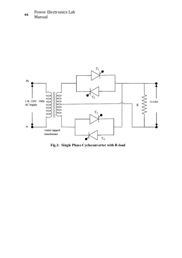 Three phase cycloconverter simulation dating