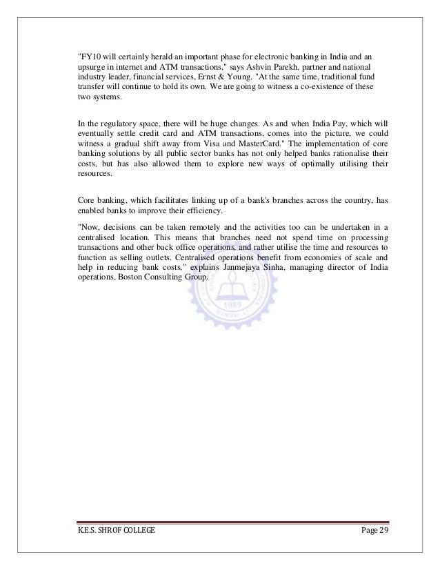 Final study of internet banking in india 29 spiritdancerdesigns Gallery
