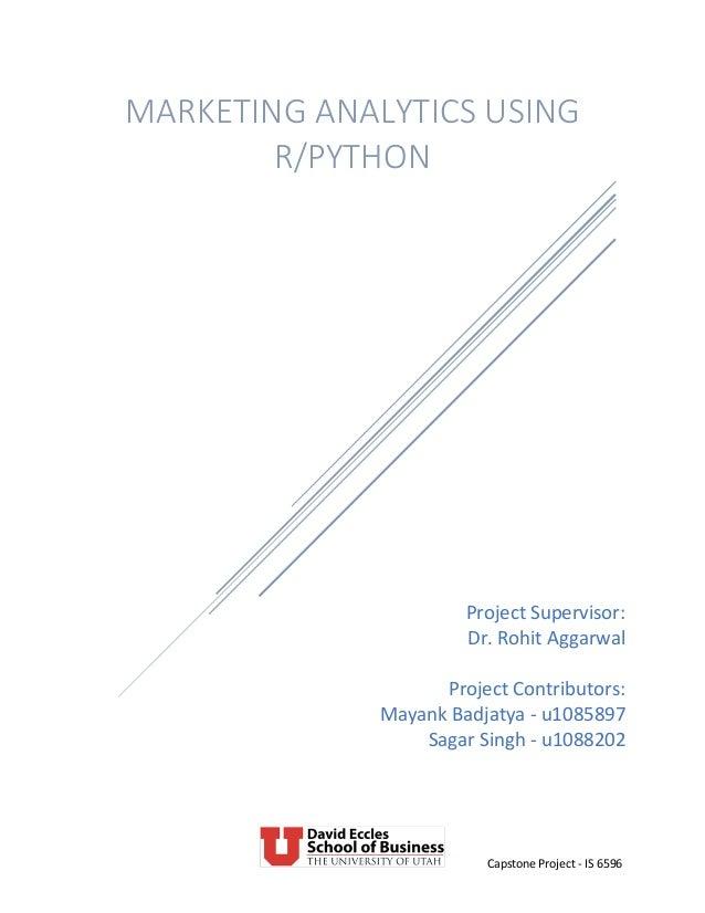 Marketing Analytics using R/Python