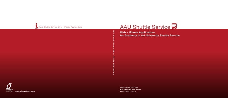 AAU Shuttle Service Web + iPhone Applications                                                                             ...