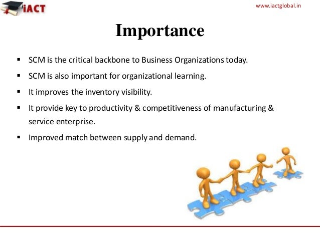 Role of forecasting in supply chain management ppt.