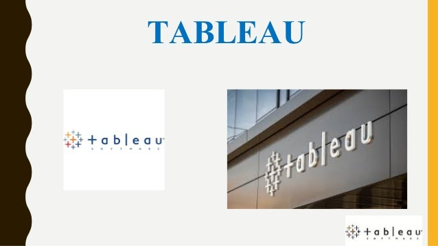 Tableau Ppt Intro Features Advantages Disadvantages