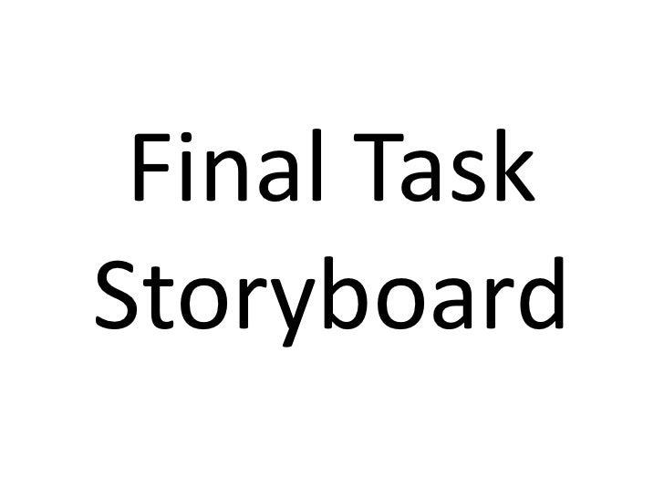 Final TaskStoryboard