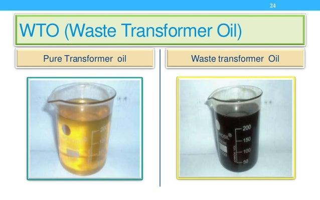 WTO (Waste Transformer Oil) Pure Transformer oil Waste transformer Oil 24