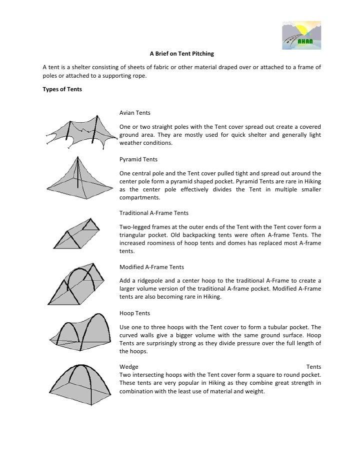 Final Tent Pitching Module
