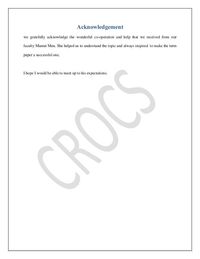 crocs company essay Free college essay ford: company analysis abstract ford motor company have been around since 1903, and although in the past they lost market shares due to.