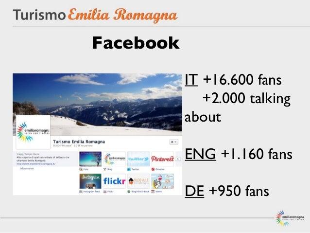 Facebook           IT +16.600 fans              +2.000 talking           about           ENG +1.160 fans           DE +950...