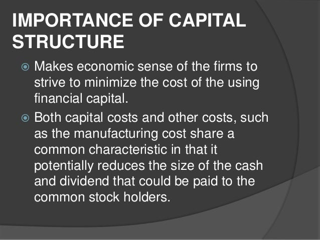 capital structure of firms This paper investigates the relationship between capital structure, ownership structure and firm performance using a sample of french manufacturing firms.