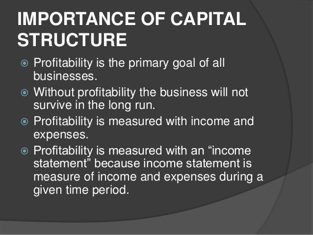 the importance of the structure of The four structures consist of entrepreneurial structure, functional structure, matrix structure and divisional structure first of all, the entrepreneurial organization structure is an adapting structure which brings activities of management and process that are related to gaining profitability upon specific opportunities.