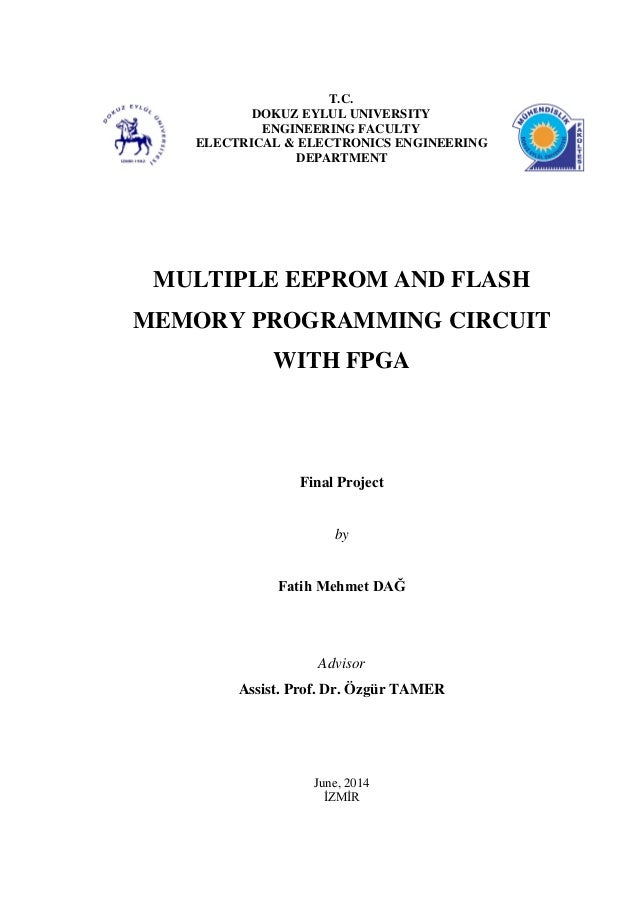 Multiple EEPROM and Flash Memory Programmer Circuits