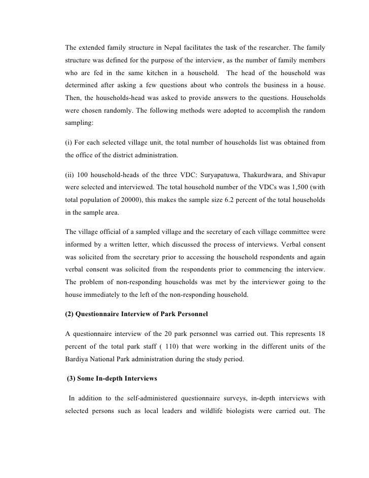 thesis nepal