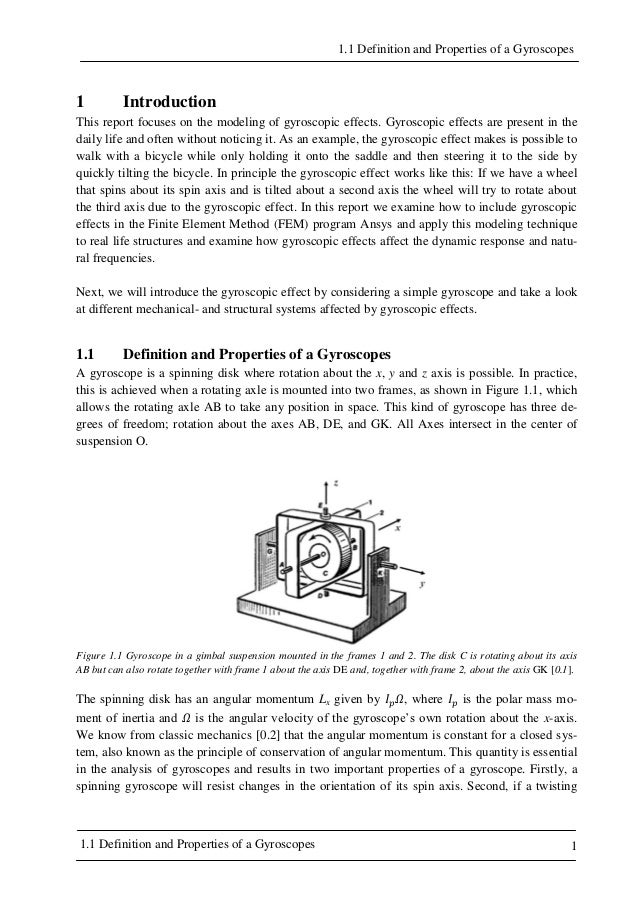ansys thesis