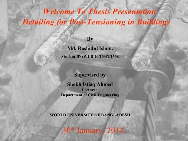 Dissertation final presentation