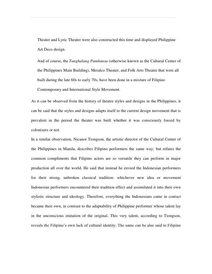 philippine culture literature review