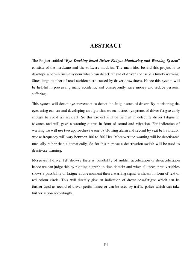 eye tracking thesis Eye-tracking technology in vehicles: application and design by vasileios selimis thesis submitted for the degree of master of philosophy city university london.
