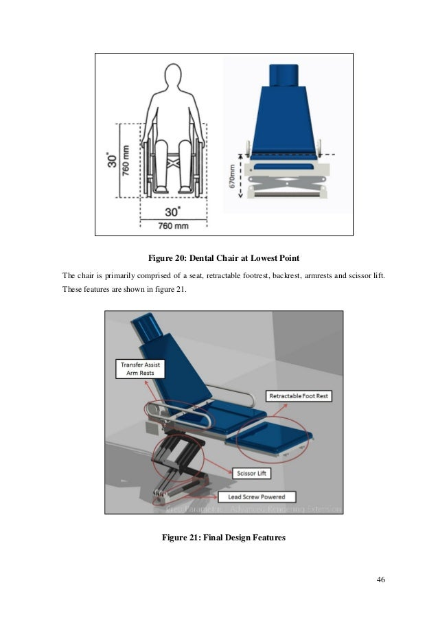 The Design of a Disabled Friendly Dental Chair By Paul Sweeney