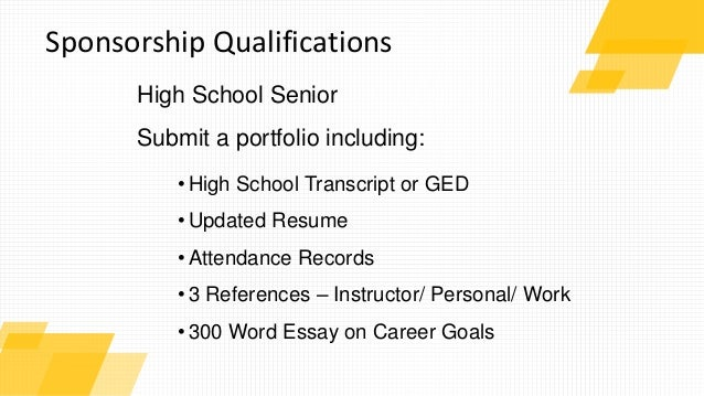 high school and goals essay Scholarship application essay example describe your academic and career goals and your plans to achieve them and discuss any of your in high school.