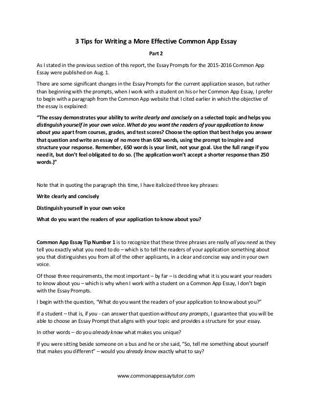 Common app essay 2015 gese ciceros co