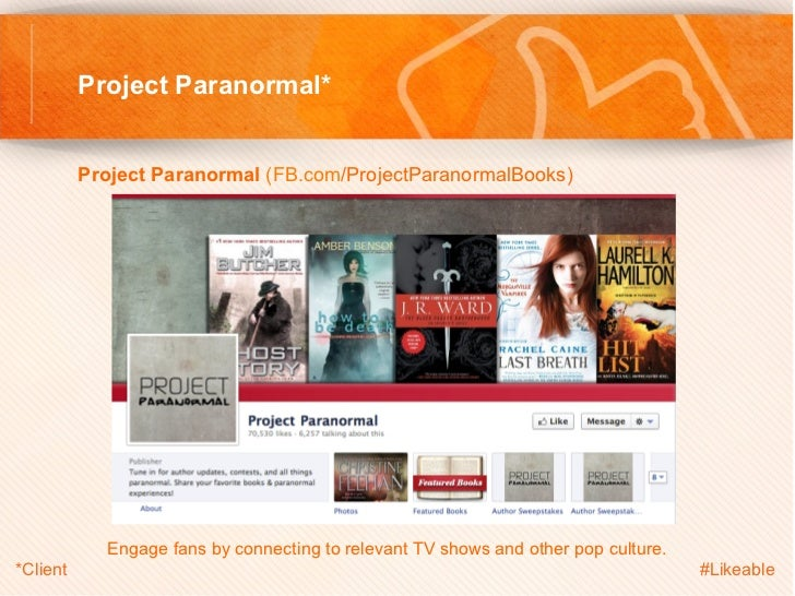 Project Paranormal*          Project Paranormal (FB.com/ProjectParanormalBooks)                                       ...