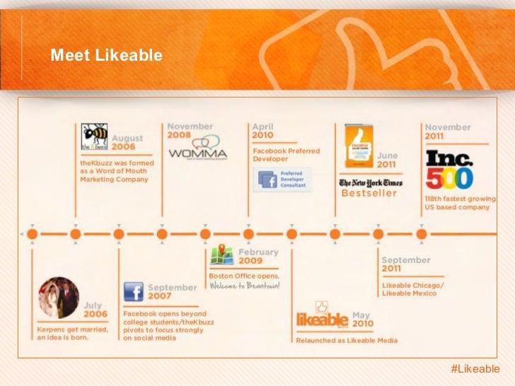 Meet Likeable                #Likeable