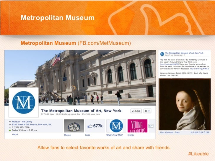 Metropolitan Museum                                      Sh Metropolitan Museum (FB.com/MetMuseum)         Allow fan...