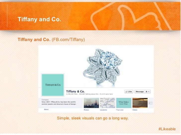 Tiffany and Co.Tiffany and Co. (FB.com/Tiffany)                    Simple, sleek visuals can go a long way.           ...