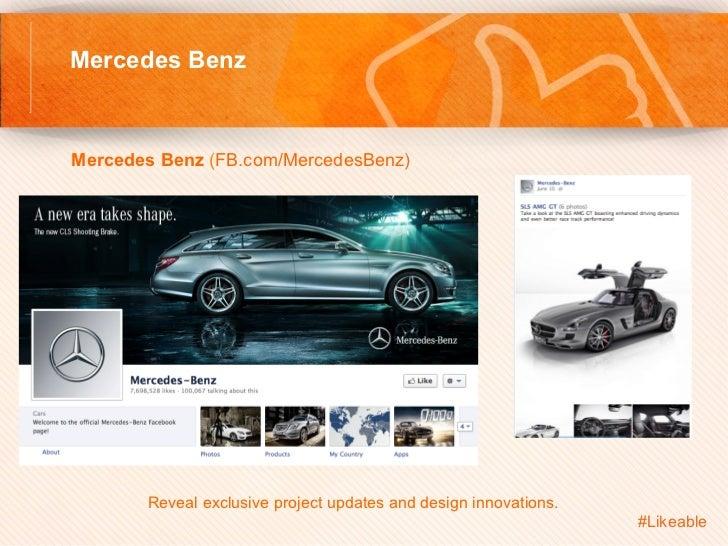Mercedes BenzMercedes Benz (FB.com/MercedesBenz)         Reveal exclusive project updates and design innovations.     ...