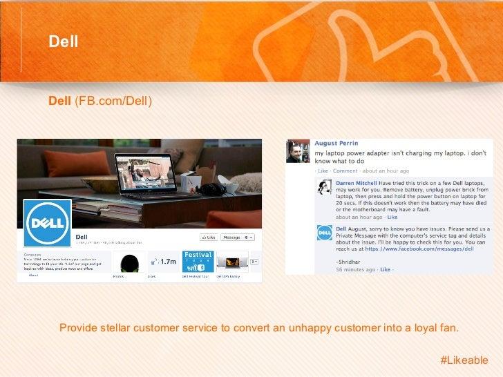 Dell                                          Sh Dell (FB.com/Dell)         Provide stellar customer service to conv...