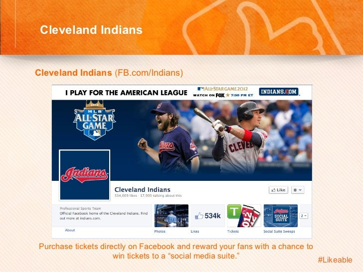 Cleveland Indians                                          Sh Cleveland Indians (FB.com/lndians)         Purchase ti...
