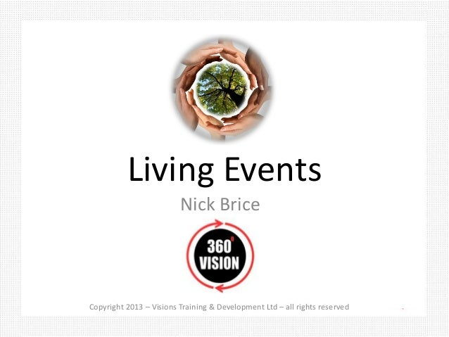 Living Events                         Nick Brice                                                                          ...
