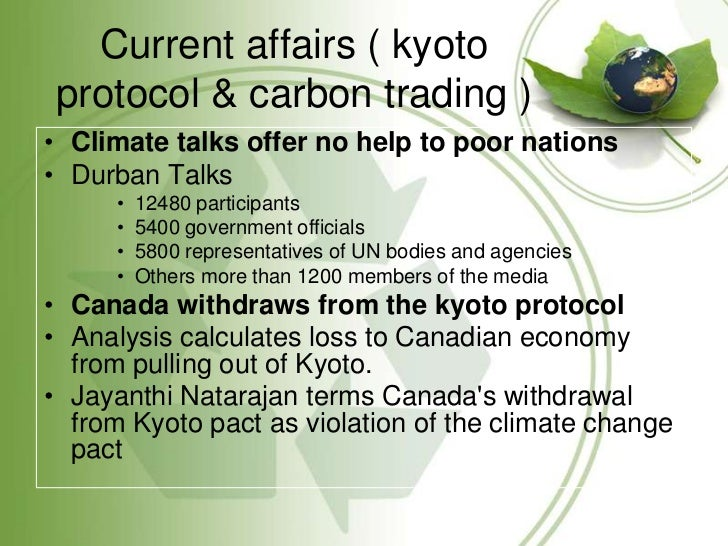 climate change and the kyoto protocol politics essay Us politics business tech science kyoto emerged from the un framework convention on climate change world should abandon kyoto protocol on climate change.