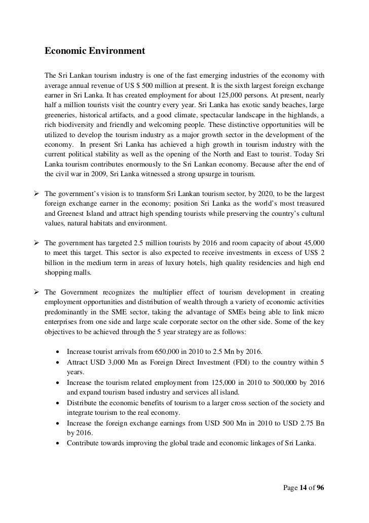 tourism in sri lanka essay pdf