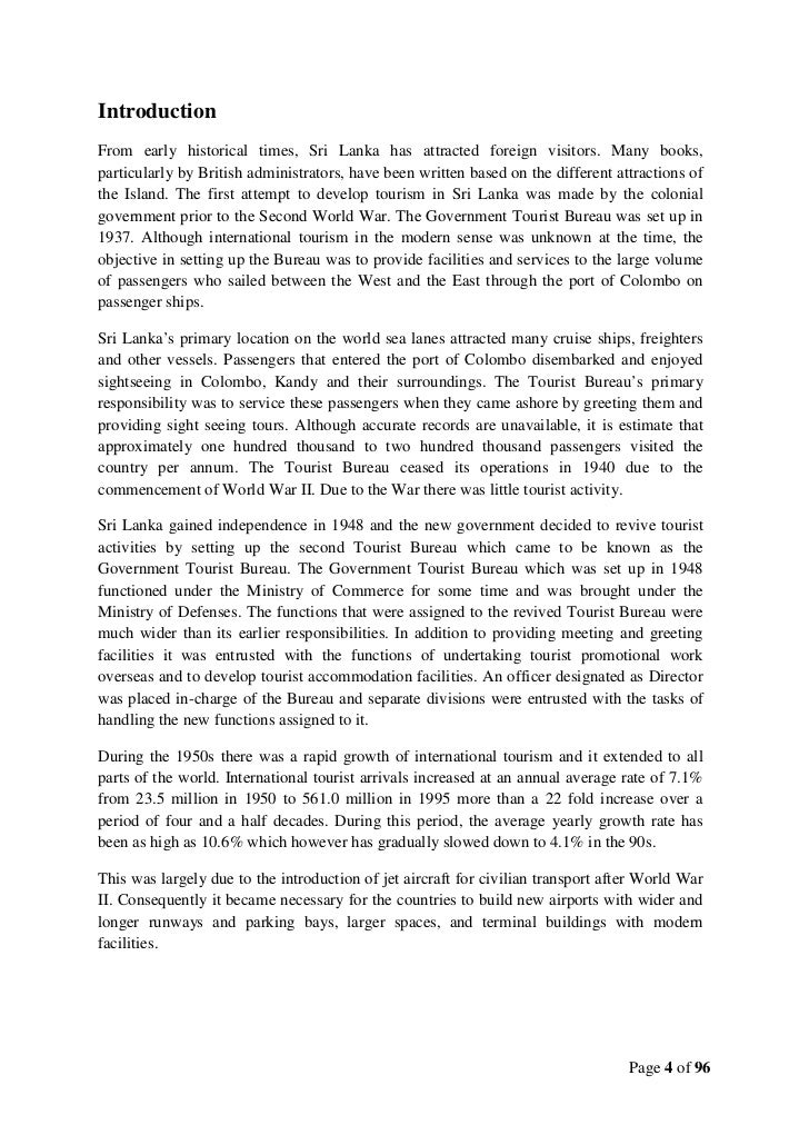 tourism in sri lanka essay My country sri lanka essay submitted by: open document below is an essay on my country sri lanka from anti essays tourism in sri lanka and the impact in.
