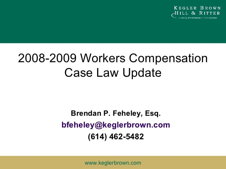 An overview of workers compensation