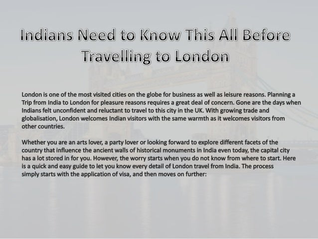 When: You can apply for your UK Visa 3 months prior to your travel date. It is recommended that you do not make any travel...