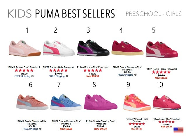 children's puma tennis shoes